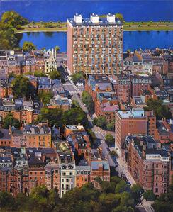 Back Bay Aerial View, Boston