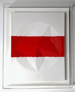 'Red & White Stripe-In'