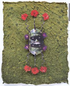 Green Reflecting Head Sam No.5