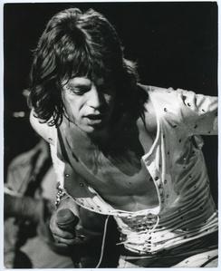 Mick Jagger (B & W)