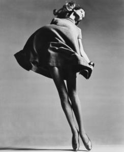 Veruschka, Dress by Bill Blass, New York Studio, January 4, 1967