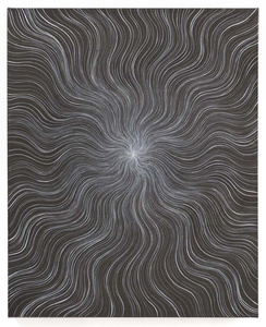 Untitled (Gray Wavy Ray)