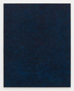 Undertow (Painted Black Sand SF #2F, Blue and Black)