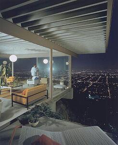 Case Study House #22, Los Angeles, CA (Pierre Koenig), 1960