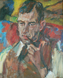 Portrait of Austen St Barbe Harrison