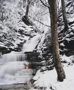 Shale Falls (winter)