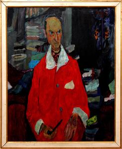 Portrait of Kosta Strajnić