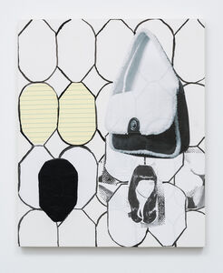 Handbag on Stained Glass