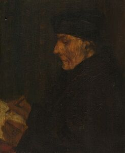 Memory Copy of Holbein's Erasmus