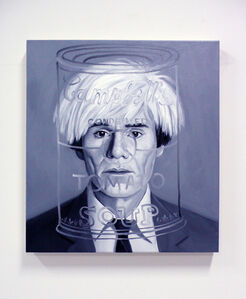 MEETING ANDY WARHOL from the series THE INABILITY OF MEETING SOMEONE FAMOUS OBJECTIVELY