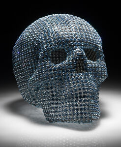 Vanities (Acquamarine Skull)