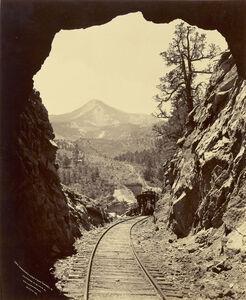 Cameron's Cone from Tunnel 4, Colorado Midland Railway