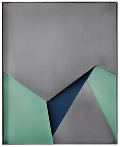 Steel strata Mk1, 2017 © Theo Simpson/ Webber Gallery, London