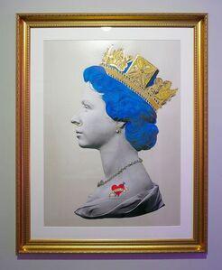 Blue Punk Queen Large