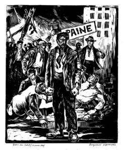 Galati Strike from June 13, 1916