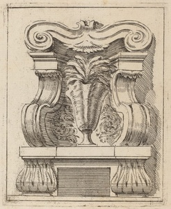 Architectural Motif with a Vase