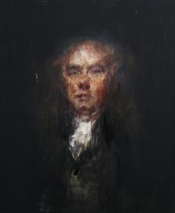 Portrait of Hugh William Williams, after Raeburn