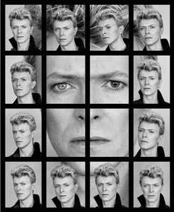 David Bowie's Eyes Collage