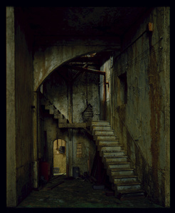 Della Sala (Interior with stairs)
