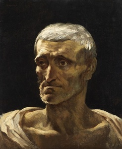 Head of a shipwrecked man