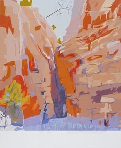 Redbank Gorge, MacDonnell Ranges c. 1936-37 (After Albert Namatjira)