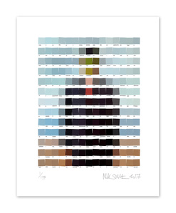 Mini Son of Man Print