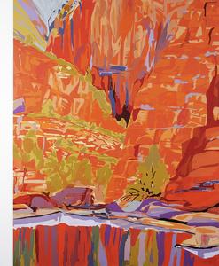 Quarta-Tooma (Ormiston Gorge) 1939 (After Albert Namatjira) #2