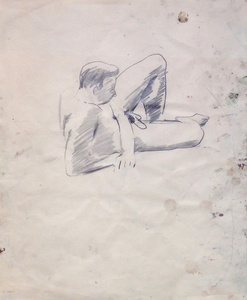 Untitled (male study)