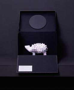 Experimental Archeology: Hedgehog shaped vase