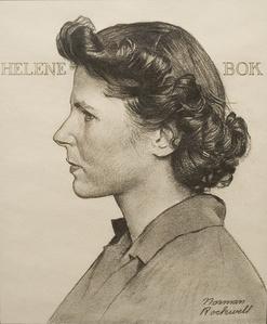 Portrait of Helene Bok