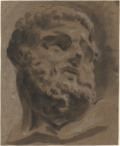 Bearded Head after the Antique