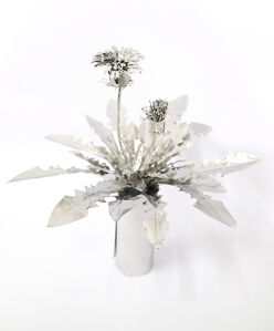 Dandelion with flower