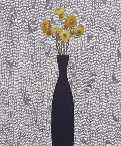 Yellow Strawflowers, Morie
