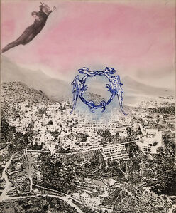Untitled (Yves Klein in Gaza)