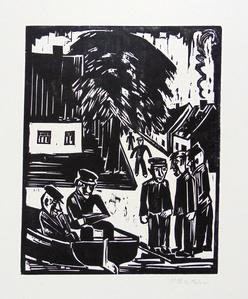 Fisherman on the Shore (Sunday Fishermen) | Fischer am Ufer (Sonntag Der Fischer)