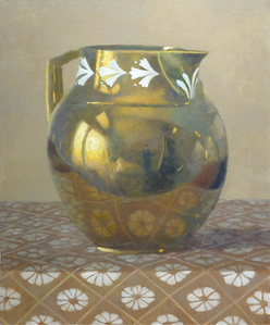 Gold Water Pitcher
