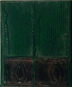 Puerta verde y negra (Green and black door)
