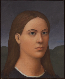 Woman in Umbria