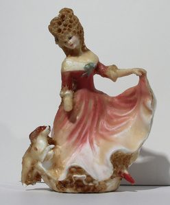 Lady with a Dog (From the China Cabinet)