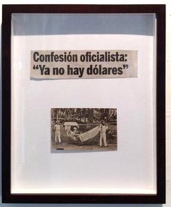 """Confesión oficialista """"Ya no hay dólares"""""""