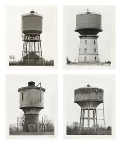 Vier Wassertürme