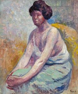 Madame Luce, c 1900, Portrait d'Ambroisine