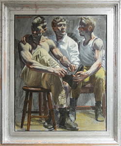 [Bruce Sargeant (1898-1938)] Three Friends