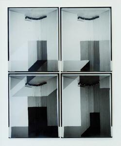 Tiled 01 (white to black)