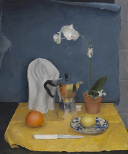 Still Life in Blue and Yellow