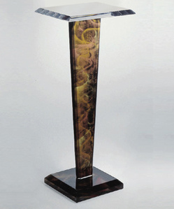 Jerusalem Pedestal (price is for both pieces) (companion to Jerusalem Crescent) (The sale of this piece benefits the nonprofit Zenith Community Arts Foundation)