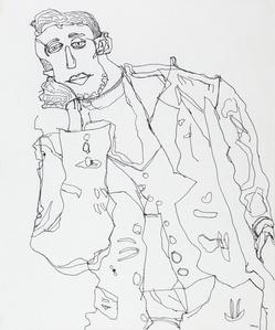After Egon Schiele, V