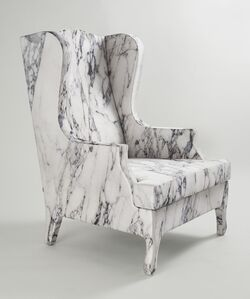 Louis XV goes to Sparta Armchair