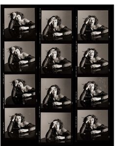 Kelly LeBrock as Sloth, Contact Sheet, Los Angeles