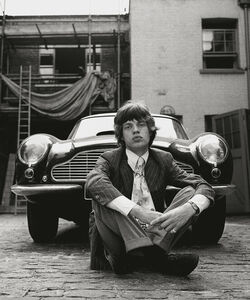 Mick and Aston Martin, 1966